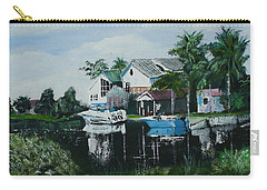 Hernando Beach Carry-all Pouch by Luis F Rodriguez