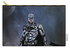 Carry-all Pouch featuring the painting Hero by Andrzej Szczerski