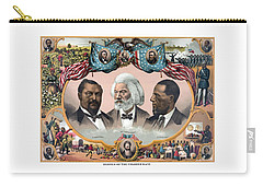 Heroes Of The Colored Race  Carry-all Pouch by War Is Hell Store