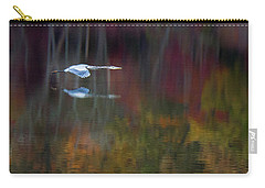 Heron 2 Carry-all Pouch by Carlee Ojeda