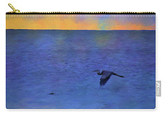 Heron Across The Sea Carry-all Pouch