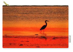 Heron At Dawn Carry-all Pouch