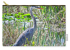 Heron By The Riverside Carry-all Pouch