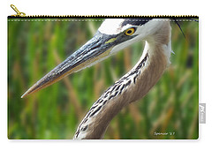Heron Head Carry-all Pouch