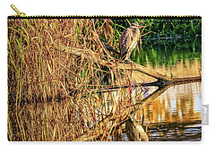 Heron In Autumn #g9 Carry-all Pouch