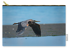 Heron In Flight Carry-all Pouch