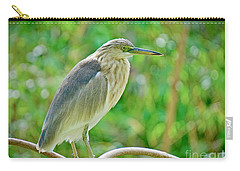 Heron On The Edge Carry-all Pouch