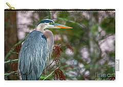 Heron Perched In Tree #2 Carry-all Pouch