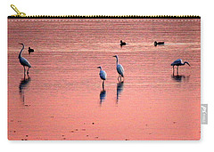 Herons At Sunrise Carry-all Pouch