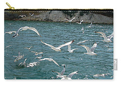 Herring Gulls At Pictured Rocks Carry-all Pouch