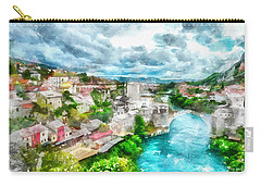 Herzegovina Vista Carry-all Pouch by Shirley Stalter