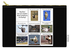 Carry-all Pouch featuring the photograph Hey Doc by Shane Bechler