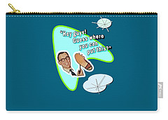 Carry-all Pouch featuring the digital art Hey Guys  by Christopher Woods