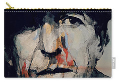 Hey That's No Way To Say Goodbye - Leonard Cohen Carry-all Pouch