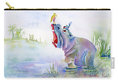 Hey Whats The Big Idea Carry-all Pouch by Amy Kirkpatrick