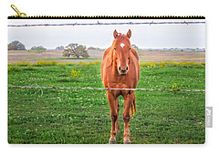 Carry-all Pouch featuring the photograph Hey You - Ya You by Melinda Ledsome