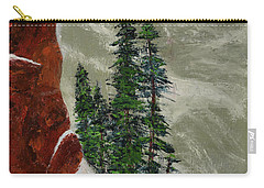 Hi Mountain Pine Trees Carry-all Pouch