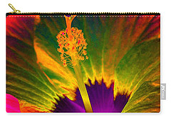 Hibiscus 01 - Summer's End - Photopower 3189 Carry-all Pouch by Pamela Critchlow