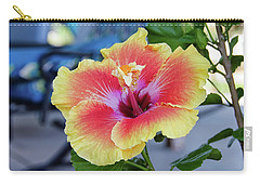 Hibiscus Bloom On The Patio Carry-all Pouch
