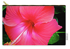 Hibiscus Blossom Carry-all Pouch by Tony Grider