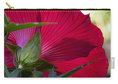 Carry-all Pouch featuring the photograph Hibiscus by Charles Harden