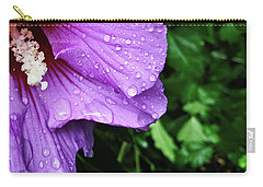 Carry-all Pouch featuring the photograph Hibiscus Corner by Robert Knight