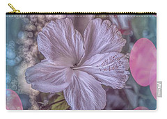 Carry-all Pouch featuring the photograph Hibiscus by Elaine Teague