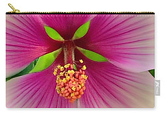 Hibiscus Face Carry-all Pouch