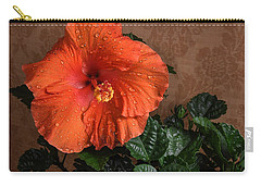 Hibiscus Fine Art Carry-all Pouch