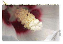 Hibiscus Hearts Of Love Carry-all Pouch by Belinda Lee