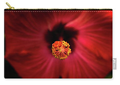 Hibiscus Carry-all Pouch by Jay Stockhaus