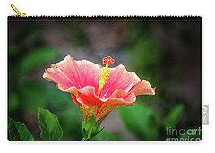Hibiscus Rosa Sinensis Carry-all Pouch
