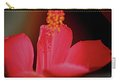 Hibiscus Shadows Carry-all Pouch