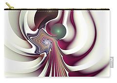 Carry-all Pouch featuring the digital art Hidden Agenda by Anastasiya Malakhova