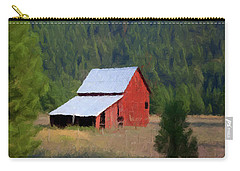 Carry-all Pouch featuring the painting Hidden Away P D P by David Dehner