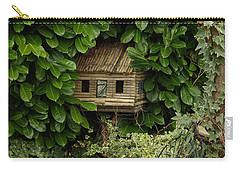 Hidden Birdhouse Carry-all Pouch
