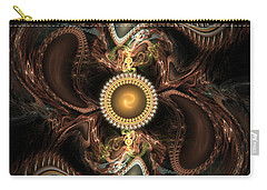 Carry-all Pouch featuring the digital art Hidden by Ester Rogers