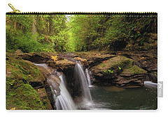Hidden Falls At Rock Creek Carry-all Pouch