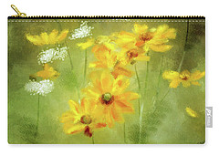 Carry-all Pouch featuring the digital art Hidden Gems by Lois Bryan