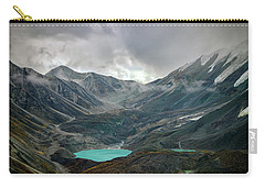 Carry-all Pouch featuring the photograph Hidden In Denali by Rick Berk