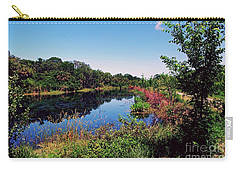 Carry-all Pouch featuring the photograph Hidden Lake by Gary Wonning