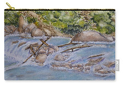 Carry-all Pouch featuring the painting Hidden Little Creek by Kelly Mills