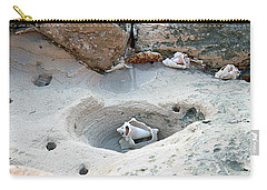 Hidden Shells On Bimini Beach Carry-all Pouch
