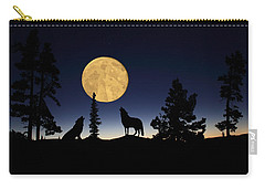 Hidden Wolves Carry-all Pouch