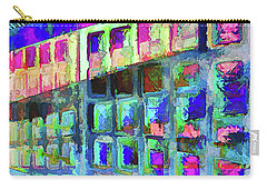 Carry-all Pouch featuring the digital art Hide And Seek by Wendy J St Christopher