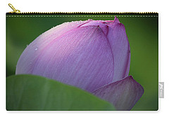 Hiding Lotus Carry-all Pouch