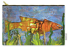 Hiding Out Carry-all Pouch by Terry Honstead