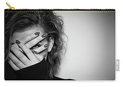 Woman Photographs Carry-All Pouches
