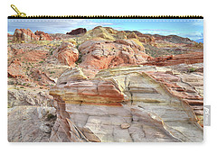 High Above Valley Of Fire Carry-all Pouch