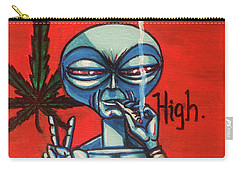 High Alien Carry-all Pouch